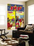 Archie Comics Retro: Pep Comic Book Cover No.265 (Aged) Carta da parati decorativa