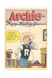 Archie Comics Retro: Archie Comic Panel Happy Hunting Grounds (Aged) Poster von Bill Vigoda