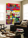 Archie Comics Retro: Reggie and Me Comic Book Cover No.21 (Aged) Carta da parati decorativa