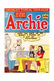 Archie Comics Retro: Archie Comic Book Cover No.28 (Aged) Bilder av Al Fagaly