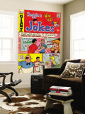 Archie Comics Retro: Reggie's Jokes Comic Book Cover No.9 (Aged) Carta da parati decorativa