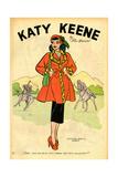 Archie Comics Retro: Katy Keene Pin-Up (Aged) Kunstdrucke von Bill Woggon