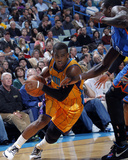 Oklahoma City Thunder v New Orleans Hornets: Chris Paul and Kevin Durant Foto af Layne Murdoch
