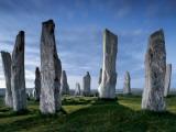 The Callanish Standing Stones, cut from rocks three billion years old. Fotografie-Druck von Jim Richardson