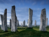 The Callanish Standing Stones, cut from rocks three billion years old. Photographic Print by Jim Richardson