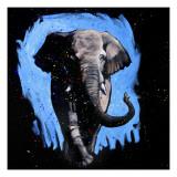 Elephant Walking Posters