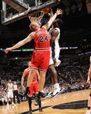 Chicago Bulls v San Antonio Spurs: Antonio McDyess and Brian Scalabrine Foto af D. Clarke Evans