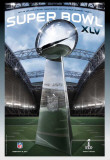 XLV Super Tickets 2011 Posters