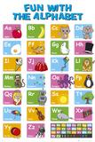 Alphabet en anglais Photographie