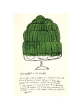 Wild Raspberries, c.1959 (green) Giclee Print by Andy Warhol