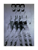 Triple Elvis, 1963 Giclee Print by Andy Warhol