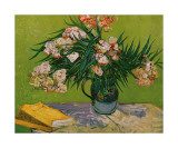 Still Life with Oleander Giclee-trykk av Vincent van Gogh