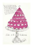 Wild Raspberries, c.1959 (pink) Giclee Print by Andy Warhol