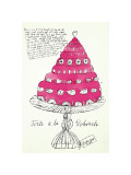 Wild Raspberries, c.1959 (pink) Giclée-tryk af Andy Warhol