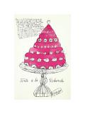 Wild Raspberries, c.1959 (pink) Giclée-Druck von Andy Warhol