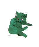 Green Cat, c.1956 Giclee Print by Andy Warhol
