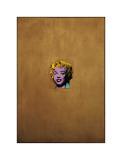 Gold Marilyn Monroe, 1962 Giclée-tryk af Andy Warhol