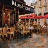 Mondrian Café Posters af Noemi Martin
