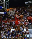 NBA Michael Jordan 1987 Slam Dunk Contest Action Foto