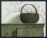 Wild Rose Berries, 1987 Impressão em tela emoldurada por Pauline Eblé Campanelli