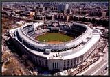 New Yankee Stadium, First Opening Day, April 16, 2009 Impressão em tela emoldurada por Mike Smith