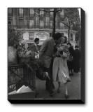 Paris, 1950 Stretched Canvas Print by Robert Doisneau