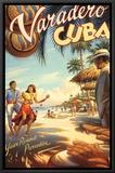 Varadero, Cuba Impressão em tela emoldurada por Kerne Erickson