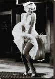 The Seven Year Itch Stretched Canvas Print