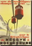 Megeve Impressão em tela esticada por Pierre Michaud