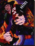 Blues Jam Impressão em tela esticada por Dane Tilghman