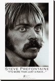 Steve Prefontaine, Portrait Stretched Canvas Print by Brian Lanker