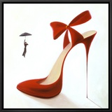 Highheels, Obsession Framed Canvas Print by Inna Panasenko