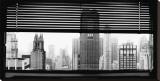 View over Manhattan, New York Stretched Canvas Print by Torsten Hoffman