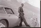 James Bond: Aston Martin Impressão em tela esticada