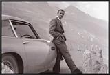 James Bond: Aston Martin Impressão em tela emoldurada