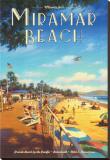 Miramar Beach, Montecitos Stretched Canvas Print by Kerne Erickson