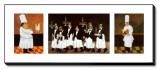 Restaurant des Capucines Impressão em tela esticada por Guy Buffet