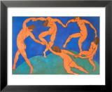 The Dance Poster van Henri Matisse