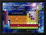 Tableau de classification périodique des éléments Affiche