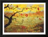 Apfelbaum mit roten Früchten, ca. 1902 Poster von Paul Ranson