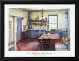 Bauernhausküche Poster von Deborah Chabrian