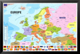 Map of Europe Prints