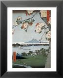 Suigin Grove and Masaki Print by Ando Hiroshige