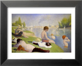 Bathers at Asnieres Arte di Seurat, Georges