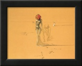 Female Figure with Head of Flowers, 1937 Print by Salvador Dalí