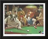 Hustler Poster by Arthur Sarnoff