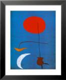 Entwurf fur eine Tapisserie Poster van Joan Miró