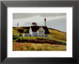 Hill and Houses Cape Elizabeth Maine Plakat af Edward Hopper