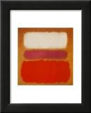 White Cloud over Purple, 1957 Schilderijen van Mark Rothko