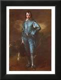 The Blue Boy Print by Thomas Gainsborough